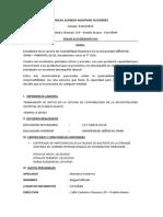 Miguel Alfredo Montero Gutierrez Cv Actual