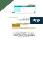 Coeficiente de Correlacion Econometria- Taller Juan David Piedrahita