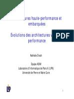 Chapitre 3 Architectures Haute Performance et embarquées