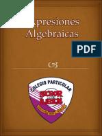 Teoria - Expresiones algebraicas
