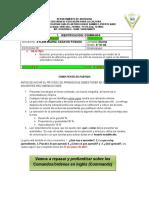 2021 Guía # 3 Inglés 6°01 y 02
