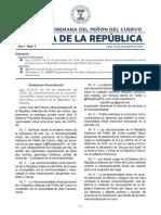 Gaceta de la República - Nº 3