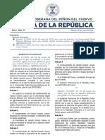 Gaceta de la República - Nº 16