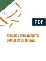 1 Las reglas y regulaciones oficiales de Teqball