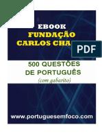 500 Questoes de Portugues Fcc