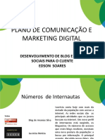 Plano de comunicação e marketing digital