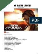 Tomb Raider Legend Soluzione Completa Con Segreti-Bonus-Trucchi