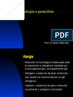40 penicilina, Alergia a