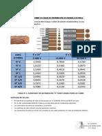 CONSTANTE DE DISTRIBUCION DE CONDUCTORES