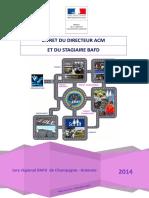 Livret Du Directeur ACM Et Du Stagiaire BAFD 2014