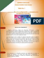 Introducción a La Configuración y Administración de Sistemas Operativos