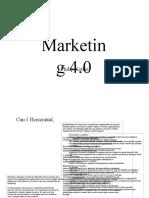 marketing 4.0 RESUMO