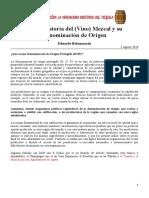 Eduardo Belaunzarán - Breve Historia Del Vino Mezcal (2020)