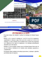 Selección e Implantación de Estrategias de M. Porter.