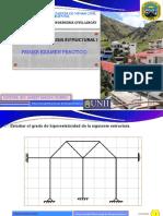 1° EXAMEN PRACTICO ESTRUCTURAS I