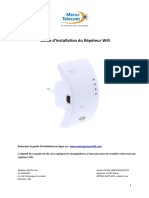 Guide Repeteur Wifi