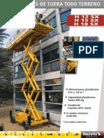PLATAFORMA DIESEL H12-15-18SX