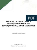 PRÁTICAS DE ENSINO PARA A DEFICIÊNCIA INTELECTUAL_ EDUCAÇÃO FÍSICA, ARTE E LUDICIDADE