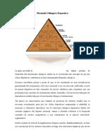 Pirámide Olímpica Deportiva