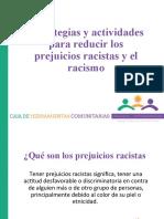 Evitar el racismo