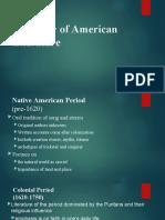 AMERICAN LITERATURE (1)