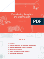 E-marketing Analytics and Optimization