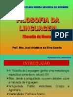 Filosofia da Linguagem - 10-03-2021