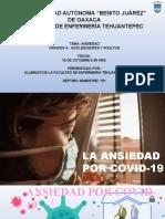 Ansiedad Por Covid-19. Adm.