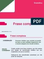 Oexp12 Frase Complexa