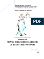 Apuntes de Filosofía del Derecho