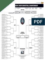 2021 NCAA Tournament Bracket