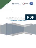 2. Unidad Temática II- Marco legal del SCG
