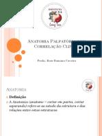 Anatomia Palpatória Com Correlação Clinica