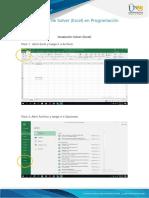 Anexo 2 - Uso de Solver (Excel) en programación lineal