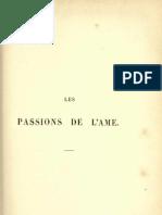 Descartes - Passions de l'ame