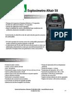 FichaTecnicaExplosimetroAltair5X