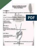 Programa 8 Marzo 2011