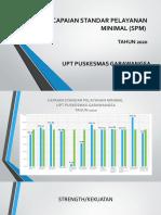 PENCAPAIAN STANDAR PELAYANAN MINIMAL (SPM) 2020 PP