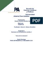 Seminario de Actualización Jurídica I