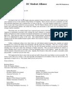 DCSA Noise Letter