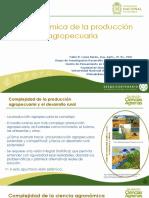 visión sistémica pdn agropecuaria-ICA I