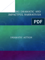 WRITING DRAMATIC AND IMPACTFUL NARRATIVES
