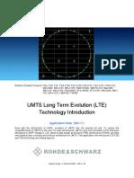 Rhode & Schwaz LTE parameters