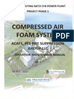 Compressed Air Foam System (ACAFS, PFS Fire Supperssion Grouo LLC)