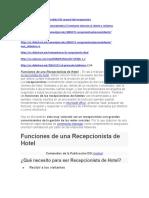 Protocolo de recepcionista