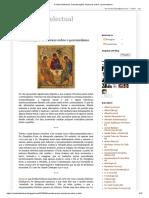 A Vida Intelectual_ Considerações ortodoxas sobre o perenialismo
