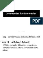 Commandes fondamentales