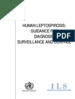 leptospirosis WHO