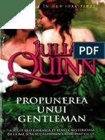 Julia Quinn-Bridgerton#3 -Propunerea Unui Gentleman