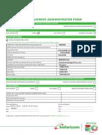 M-PESA Business Admininstator Form